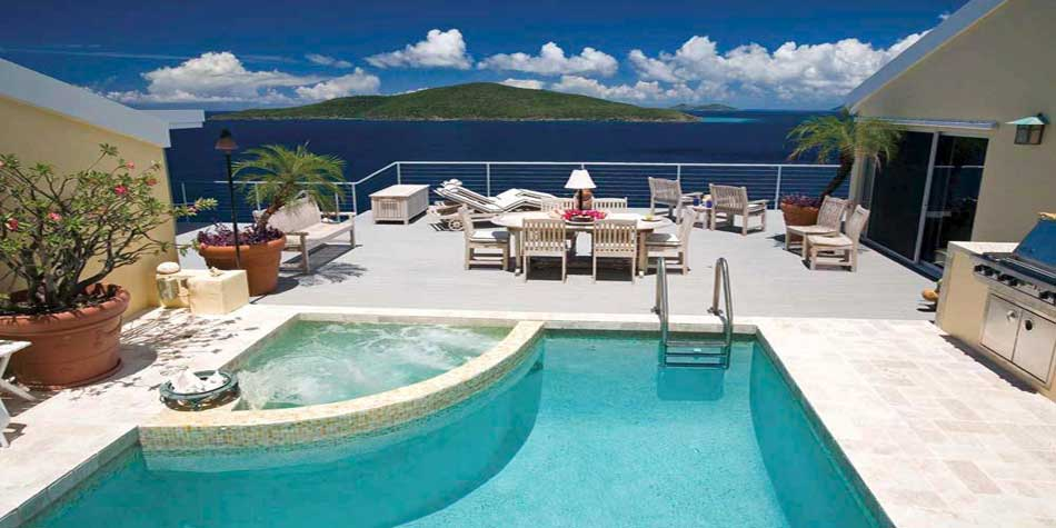 St Thomas Villa Rental With Private Swimming Pool Private Villa With Pool In The Us Virgin